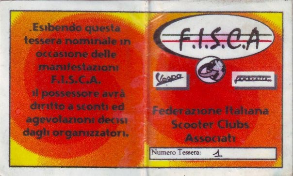 Tessera FISCA